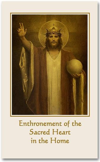 enthronement booklet